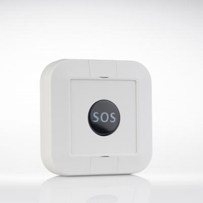 Botón SOS para envío de alertas a recepción