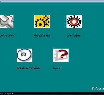 Software de grabación de tarjetas
