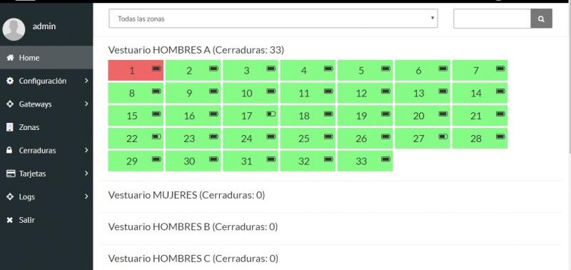 Software iVIEW for lockers_taquillas online